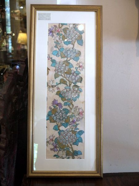 Early 1900's Chinese Embroidery - HB 432 - Hydrangeas